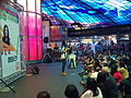 Kristy Cha Ray Chu under the Dome of Light, Formosa Boulevard Station, KRTC.jpg