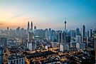 Kuala Lumpur at dawn (18794580599).jpg
