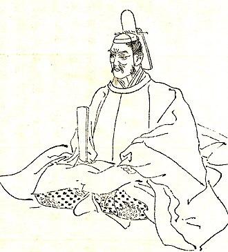 Fujiwara no Kanezane - Fujiwara no Kanezane by Kikuchi Yōsai