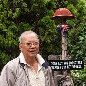 Kundasang War Memorial - Mr. Sevee Charuruks.