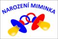 Kunratice (okres Liberec), vlajka pro miminka, vzor.png
