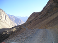 Kuran wa Munjan, road from the north to the valley.png
