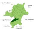 Kurume in Fukuoka Prefecture.png