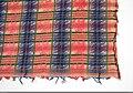 Kvadratiskt halskläde av bomullssatin med silkebårder - Nordiska museet - NM.0089673 (2).jpg