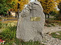 Kybartai, paminklas knygnešiams.JPG