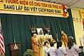 Lá cờ Đại Việt Cách mạng Đảng trong lễ giỗ lãnh tụ Hà Thúc Ký, 14-10-2010.jpg
