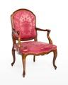 Länstol, 1700-talets mitt - Hallwylska museet - 110068.tif