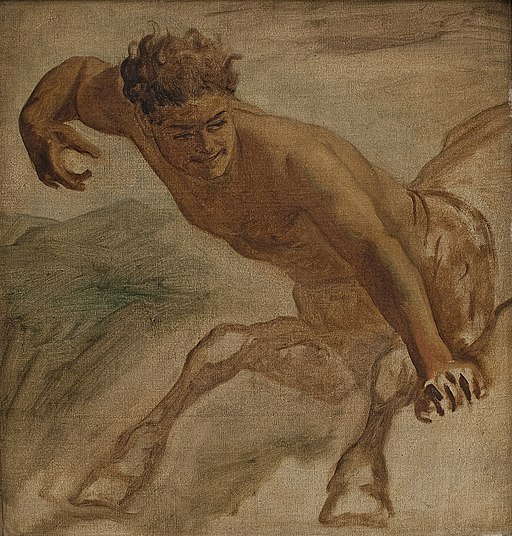 L.A. Schou - Centaur - KMS8625 - Statens Museum for Kunst