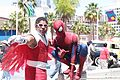 LBCE 2014 - Spiderman and Falcon (14156057008).jpg