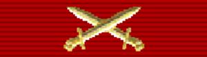 Order of Viesturs - Image: LVA Order of Viesturs (swords)