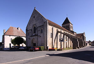 La Celle, Cher - The church of Saint-Blaise