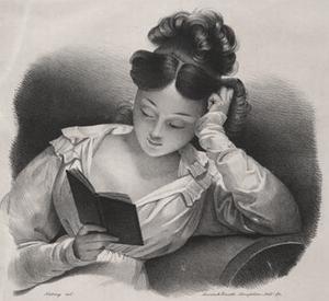 La lecture. Boston : Annin & Smith-Senefelder ...