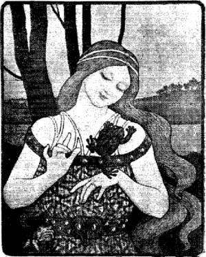 Crapaud - Image: La Femme aux crapauds par Paul Berthon