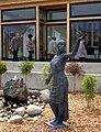 La Naïade de LAUW le jour de l'inauguration de la Mairie-Ecole rénovée 01-06-2013 (Sculpture de Thierry Delorme) - panoramio.jpg