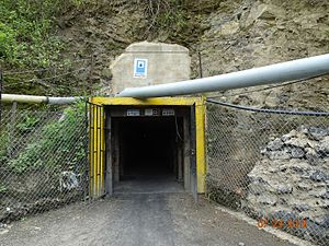 La Pita - Entrance to the mine