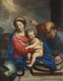 La Sainte Famille avec une allégorie de la Rédemption Pierre Mignard.png