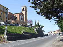 The Cathedral of the Sacred Hearts of Jesus and Mary, along the Via Cassia in La Storta