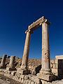 La porte nord et l'extrémité nord du Cardo - Jerash - Novembre 2014 11.jpg