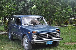 LADA 4x4 - 5-door station wagon (VAZ-2131) in Cuba.