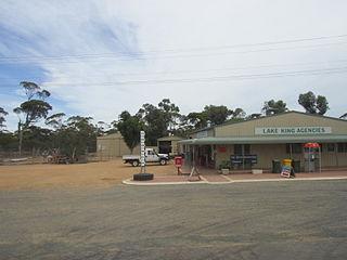 Lake King, Western Australia Town in Western Australia