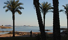 Lake Nasser - View from Abu Simbel