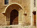 Lalinde Ste Colombe église portail sud.jpg