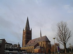 Saint Lambert church in Nederweert