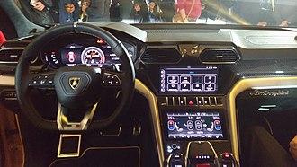 Lamborghini Urus - Interior