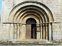 Lamonzie-Montastruc église portail.JPG