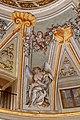 Lamporecchio, villa rospigliosi, interno, salone di apollo, con affreschi attr. a ludovico gemignani, 1680-90 ca., segni zodiacali, scorpione 01.jpg