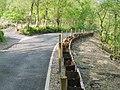 Landslip repair on Gellionnen Road, Rhyd-y-fro - geograph.org.uk - 1890834.jpg