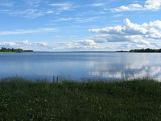 Lake Lappajärvi - Image: Lappajärvi