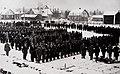 Lapuan miehistä muodostettu valkoisten joukko-osasto lähdössä sisällissotaan kevät-talvella 1918.jpg