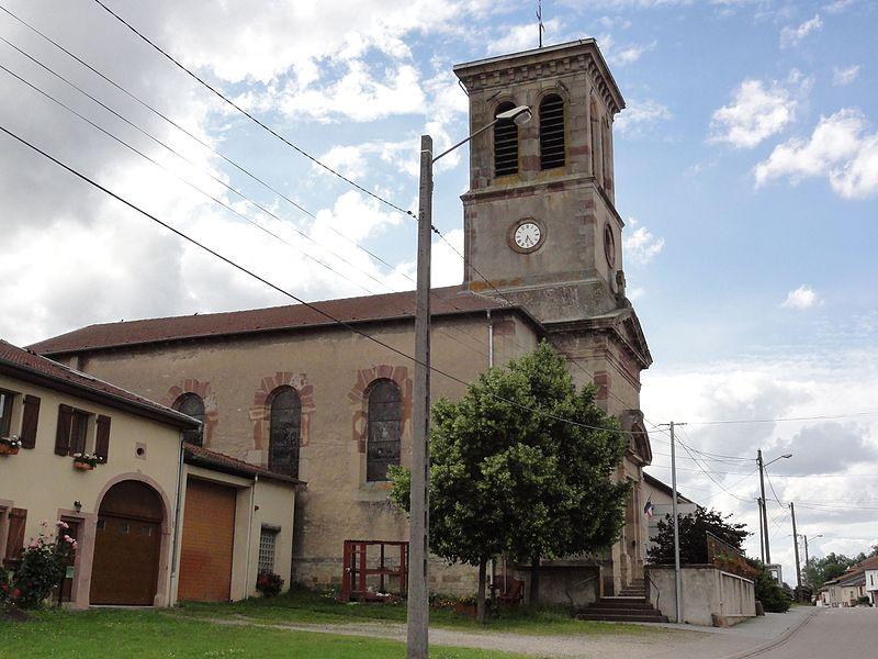 Laronxe (M-et-M) église