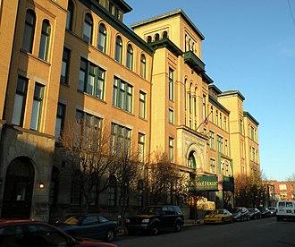 East Allegheny (Pittsburgh) - Image: Latimer School