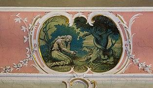 Lauda - Altstadt - Marienkirche - Innenausstattung - Medaillon Eva und die Schlange.jpg