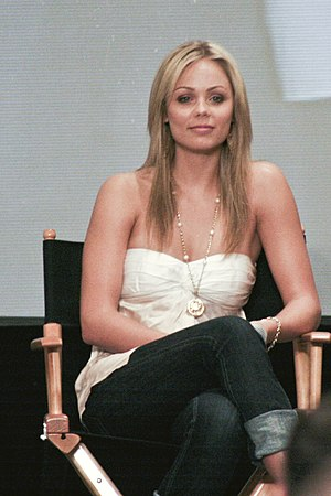 A picture of Laura Vandervoort