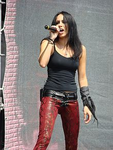 Lauren Harris at Gods of Metal 2009.jpg