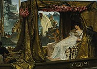 Lawrence Alma-Tadema- Anthony and Cleopatra.JPG