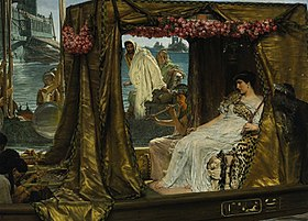 Anthony and Cleopatra, by Lawrence Alma-Tadema.