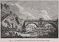 Le Pont-Neuf et le quai de l'École en 1820, d'après un dessin du temps.jpg