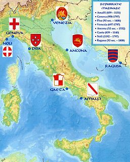 History of Italy during the Middle Ages