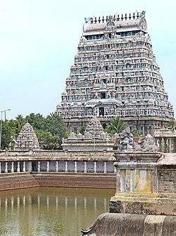 Le temple de Shiva Nataraja (Chidambaram, Inde) (14037020332).jpg