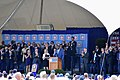 Lee Smith giving induction speech to Baseball Hall of Fame July 2019.jpg