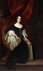 Portrait of Catherine of Braganza.