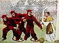 Lema (San Lorenzo) y Sastre, Ravaschino y Curazzo (Independiente) - El Gráfico 748.jpg