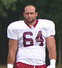 Lennie Friedman at Redskins training camp, August 2005.jpg