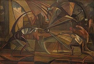 Leon Chwistek - Image: Leon Chwistek Szermierka 1919