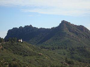 Les Agulles de Santa Àgueda, Parc Natural del Desert de Les Palmes, Castelló.JPG
