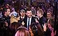 Life Ball 2014 red carpet 089 Ricky Martin Mirjam Weichselbraun.jpg